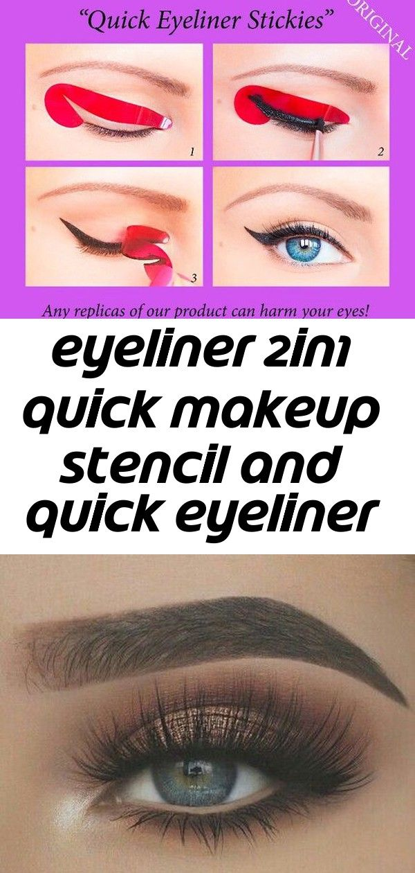 Eyeliner 2in1 quick makeup stencil and quick eyeliner stickies special offer 1 #maddyeuphoriaoutfits