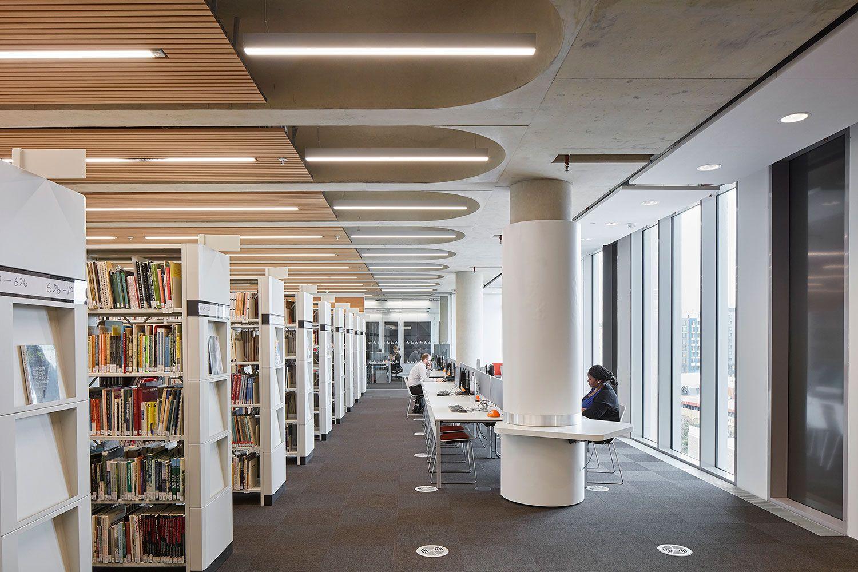 University Of Bedfordshire Ceiling Design Interior Architecture