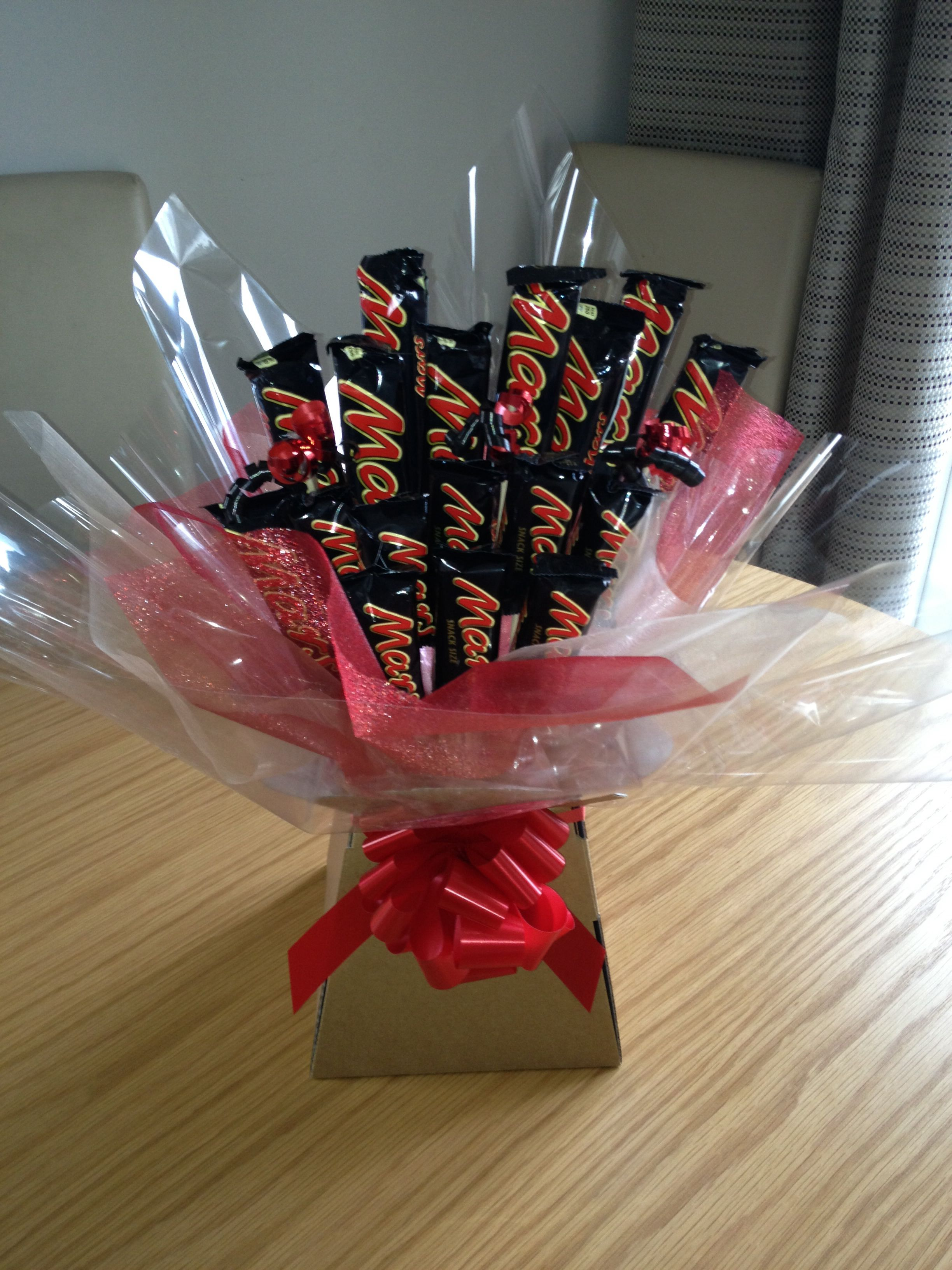 Mars Bar Chocolate Sweetie Bouquet Chocolate Bouquet Mars Bar Bar Gifts