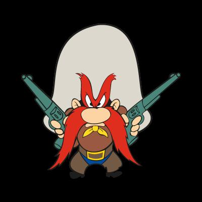 Yosemite Sam Logo Vector Eps Free Download Looney Tunes Characters Classic Cartoon Characters Yosemite Sam
