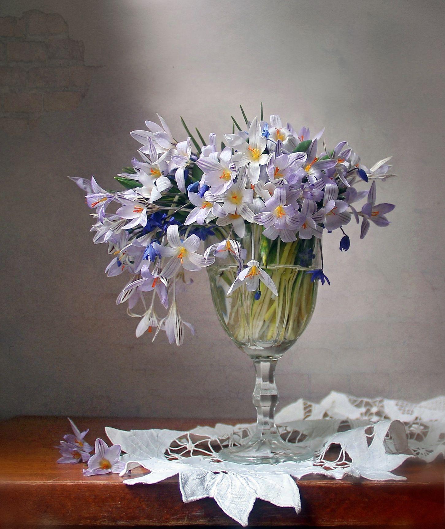 весенние первоцветы вазе фото картинки