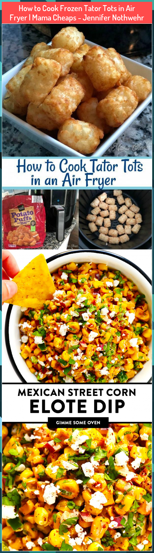 How to Cook Frozen Tator Tots in Air Fryer  Mama Cheaps  Jennifer Nothwehr