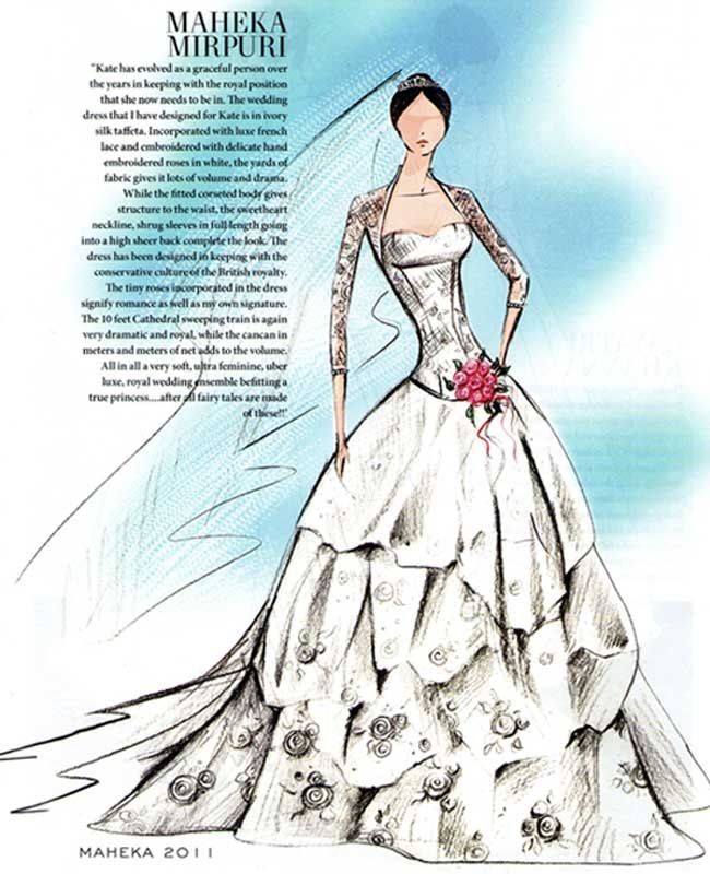 Luxury Wedding Dress Drawings Gallery - Wedding Dresses and Gowns ...