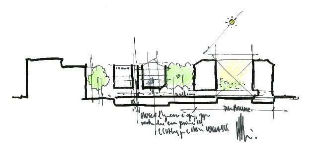 Renzo piano sketching architektur grafik pinterest for Architektur grafik