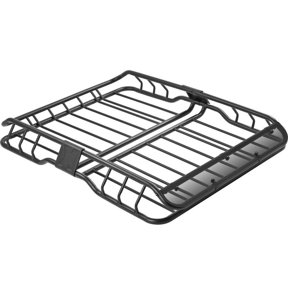 "471/4"" Roof Rack Basket Car Top Luggage Carrier & Wind"