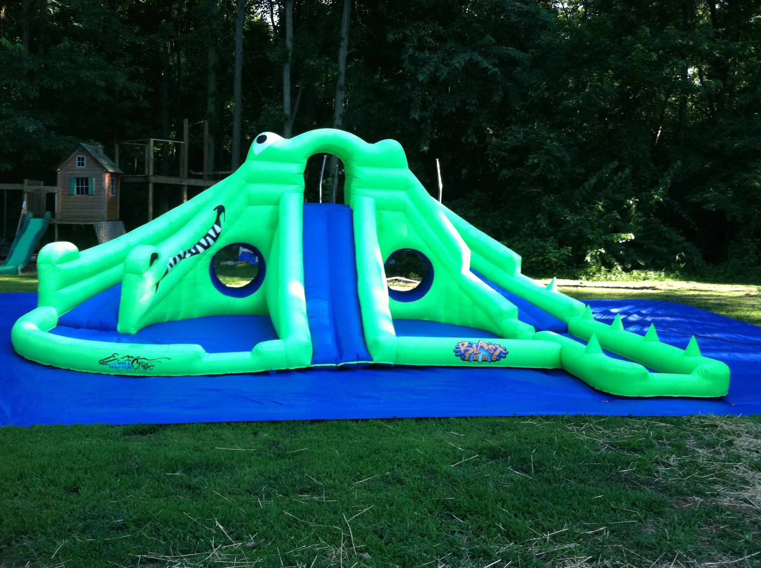 ultra croc water slide 21x21x8 5 rental fee 250 southern illinois