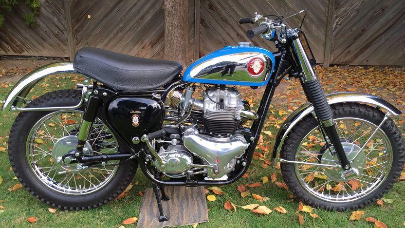1960 Bsa A10 Spitfire Scrambler S108 Las Vegas 2015 Bsa Motorcycle Mecum Auction British Motorcycles