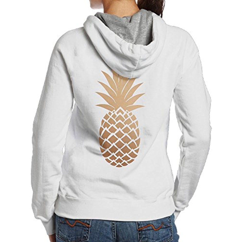 Fairy Women S Graphic Gold Pineapple Back Print Basic Hooded Sweatshirt Cotton Hoodie Click Image To Rev Cotton Sweatshirts Cotton Hoodie Hooded Sweatshirts [ 1500 x 1500 Pixel ]