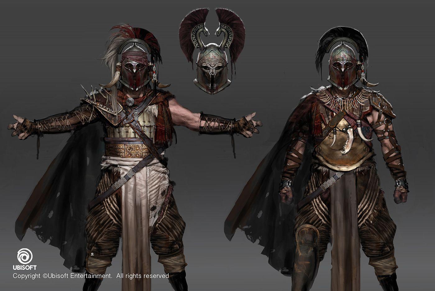 Assassin S Creed Origins Character Concept Art Concept Art