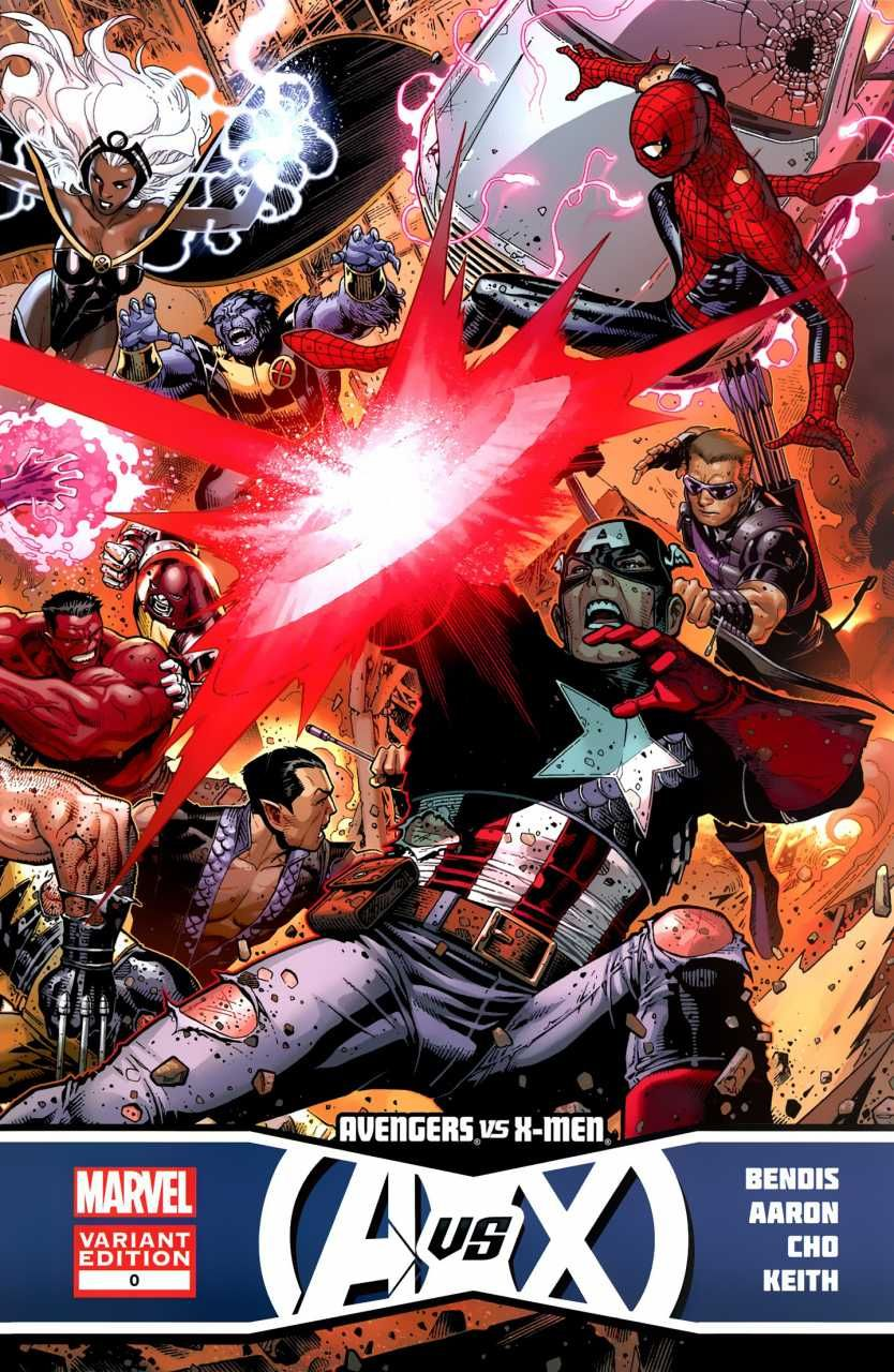 Avengers Vs X Men 0 Prologue Issue Marvel Comic Books Superhero Art Avengers