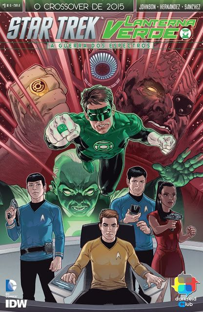 SAM-COMICS: Star Trek - Lanterna Verde 01 De 06 (2015)