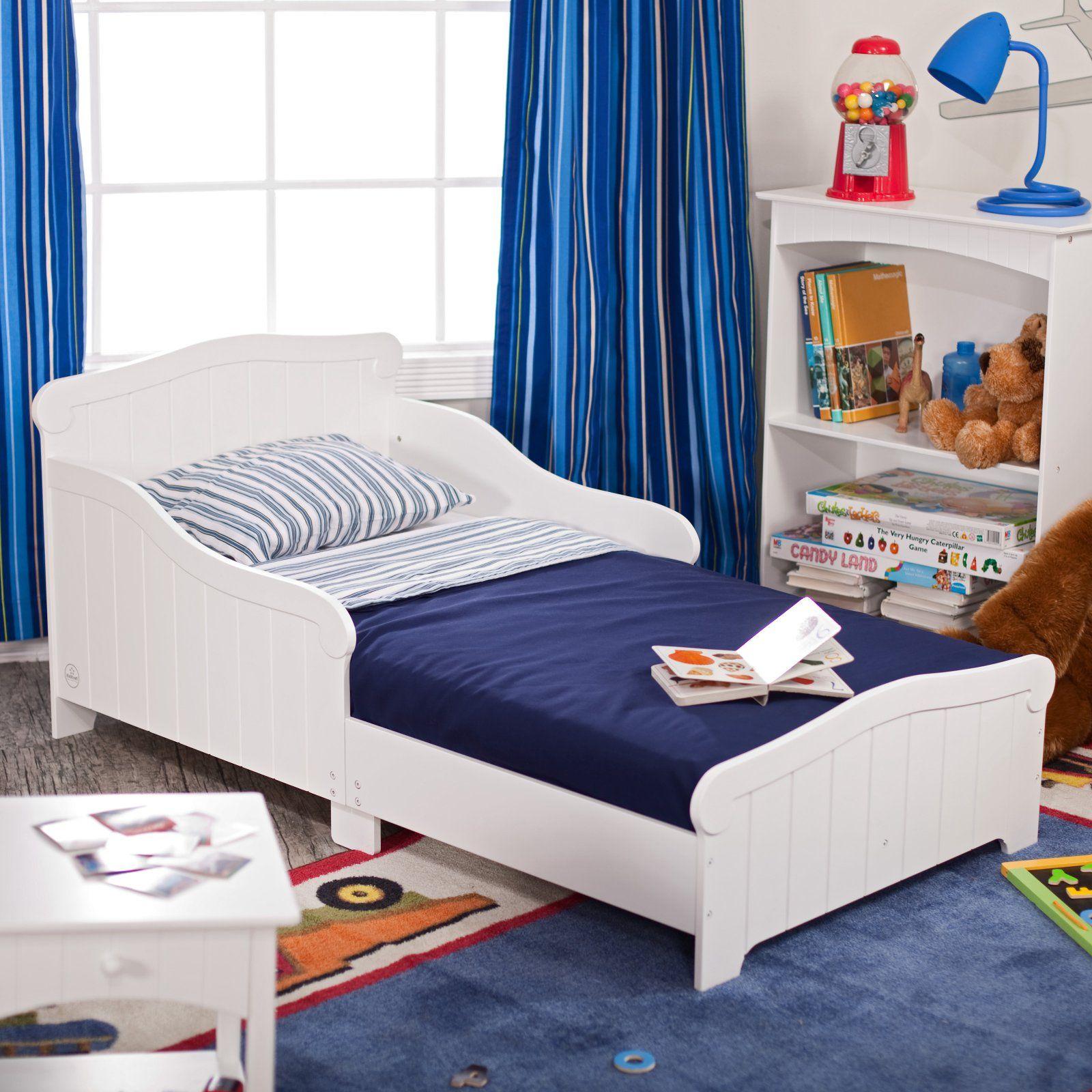 KidKraft Nantucket Toddler Bed - 86621 | Toddler boys room ...