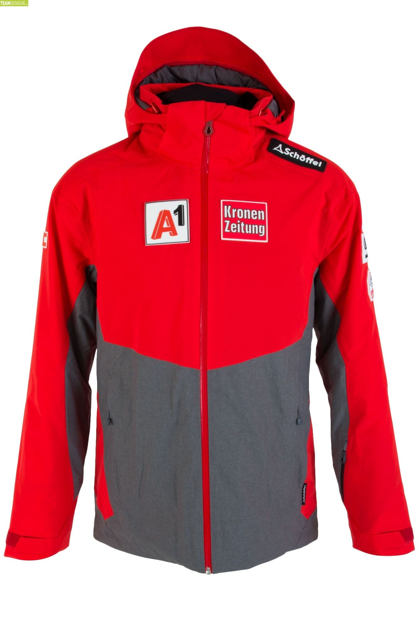 Schöffel Herren ÖSV Team Arlberg2 RT Jacke Chinese Red