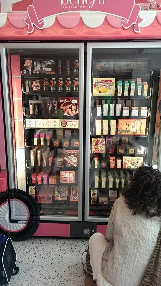 Alishas Attic Of Beauty Benefit Vending Machines