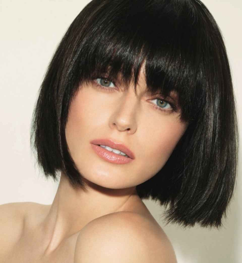 How to cut your hair for a donation brunette bob haircut styles brunette bob with bangs winobraniefo Choice Image