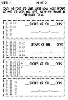 Partner activity place vale expanded form. Number SenseTens And Ones Worksheets2nd Grade ...