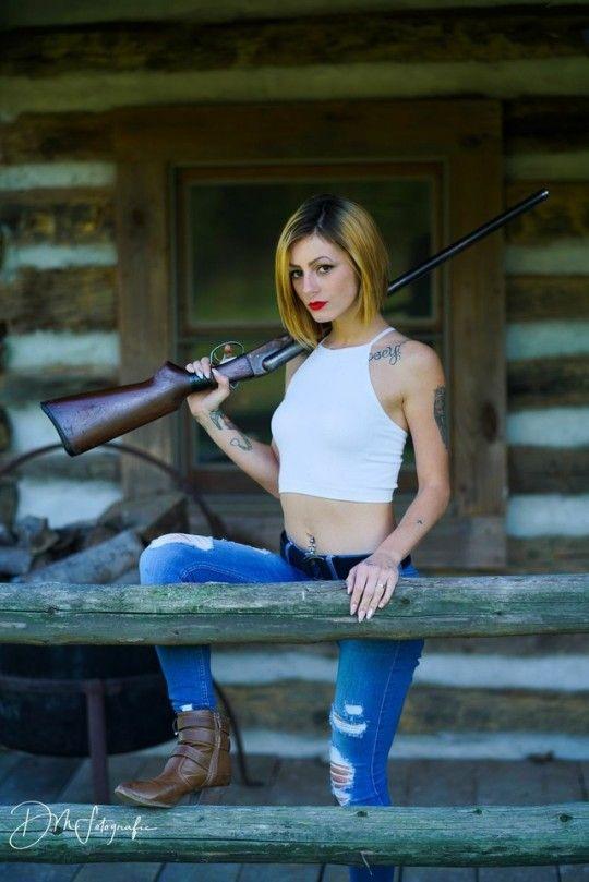 Girls With Guns Girl Guns Women Guns Guns