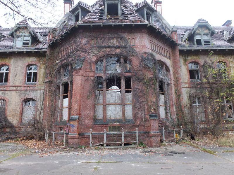 Beelitz Heilstätten in Brandenburg in der Nähe von Berlin