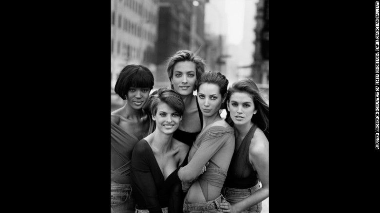 The Man Who Invented The Supermodel Looks Back At His Career Supermodels George Michael Linda Evangelista
