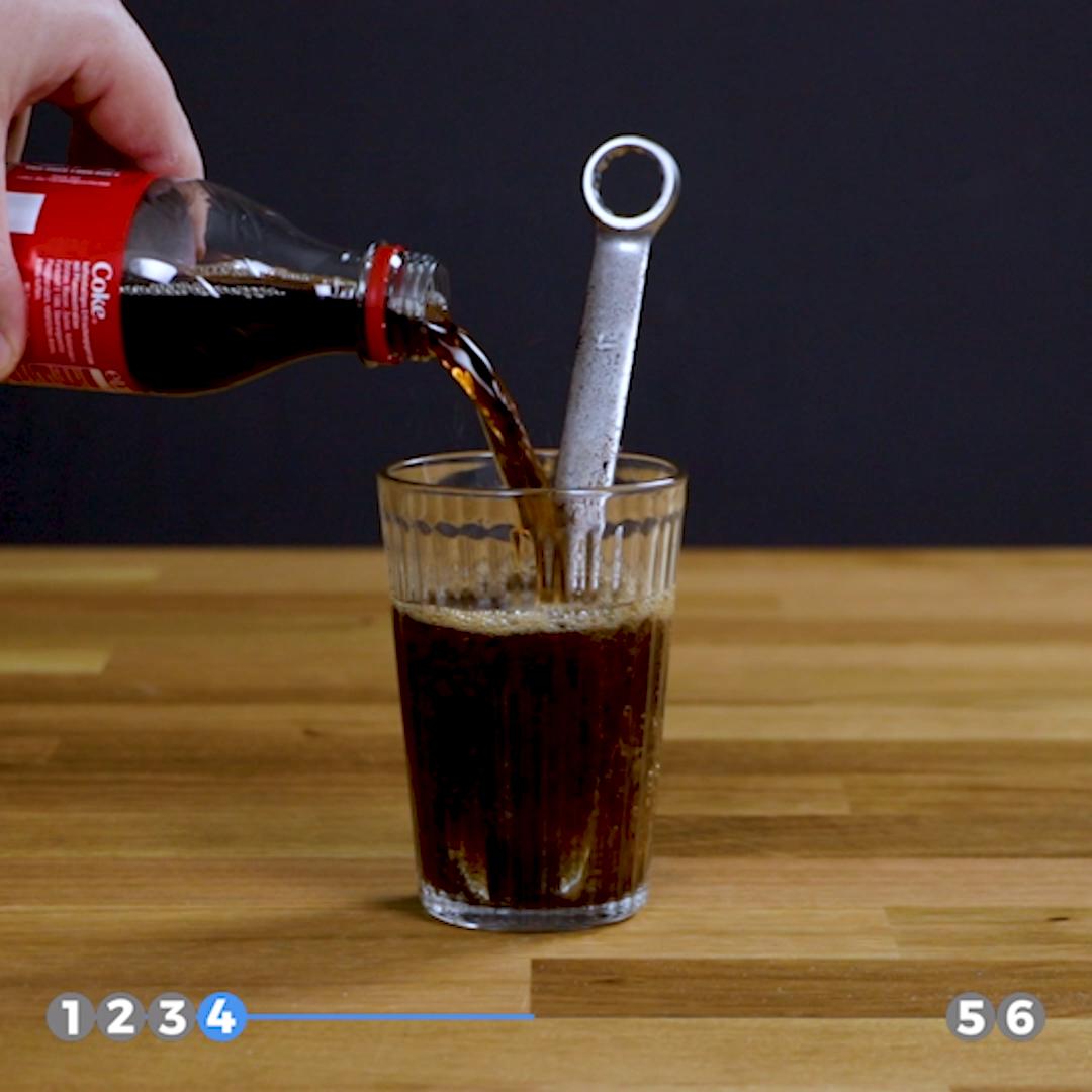 6 Anwendungen für Cola im Haushalt #lifehacks
