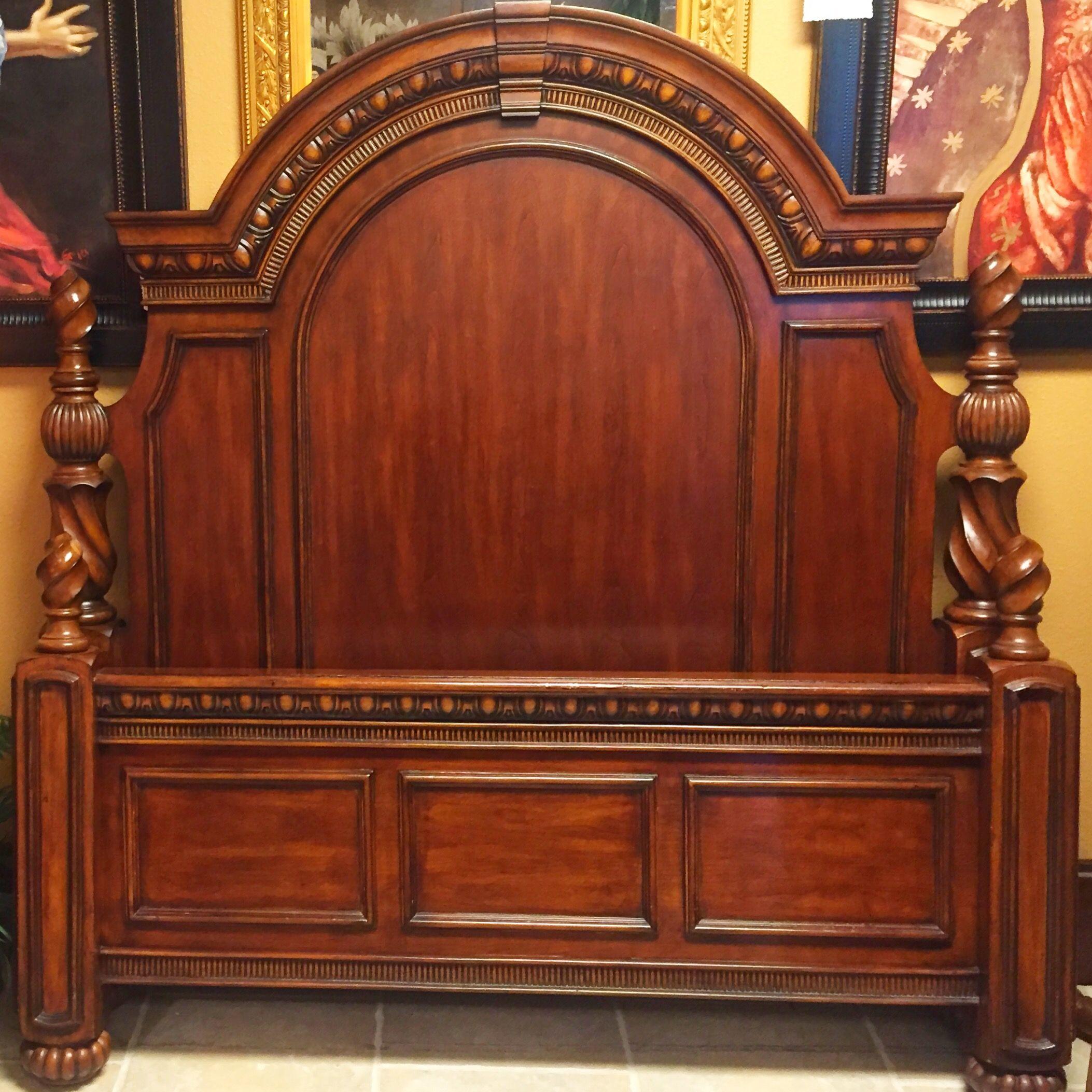 Mahogany bed Mahogany bed, Furniture, Decor