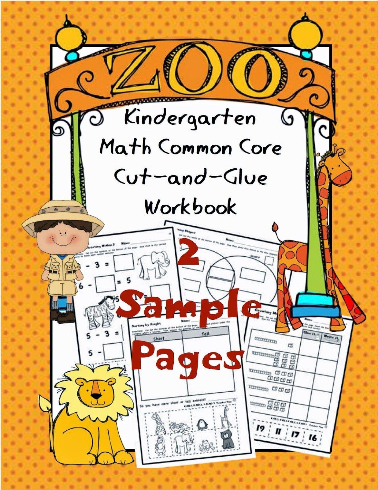 Hands-On Kindergarten Math | Common core math kindergarten ...