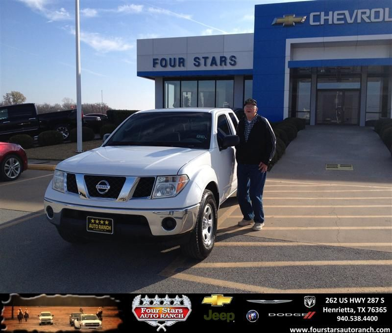Thank you to Walter Magee on your new 2008 #Nissan #Frontier from Mark Havens and everyone at Four Stars Auto Ranch! #NewCarSmell