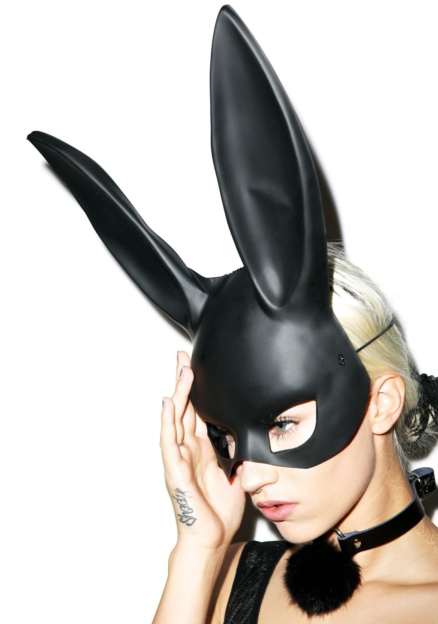 Gettin' Busy Bunny Mask | Bunny mask, Half face mask and Masking