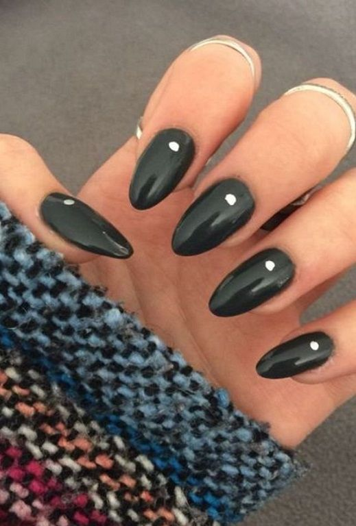 35 Almond Nail Ideas 2018