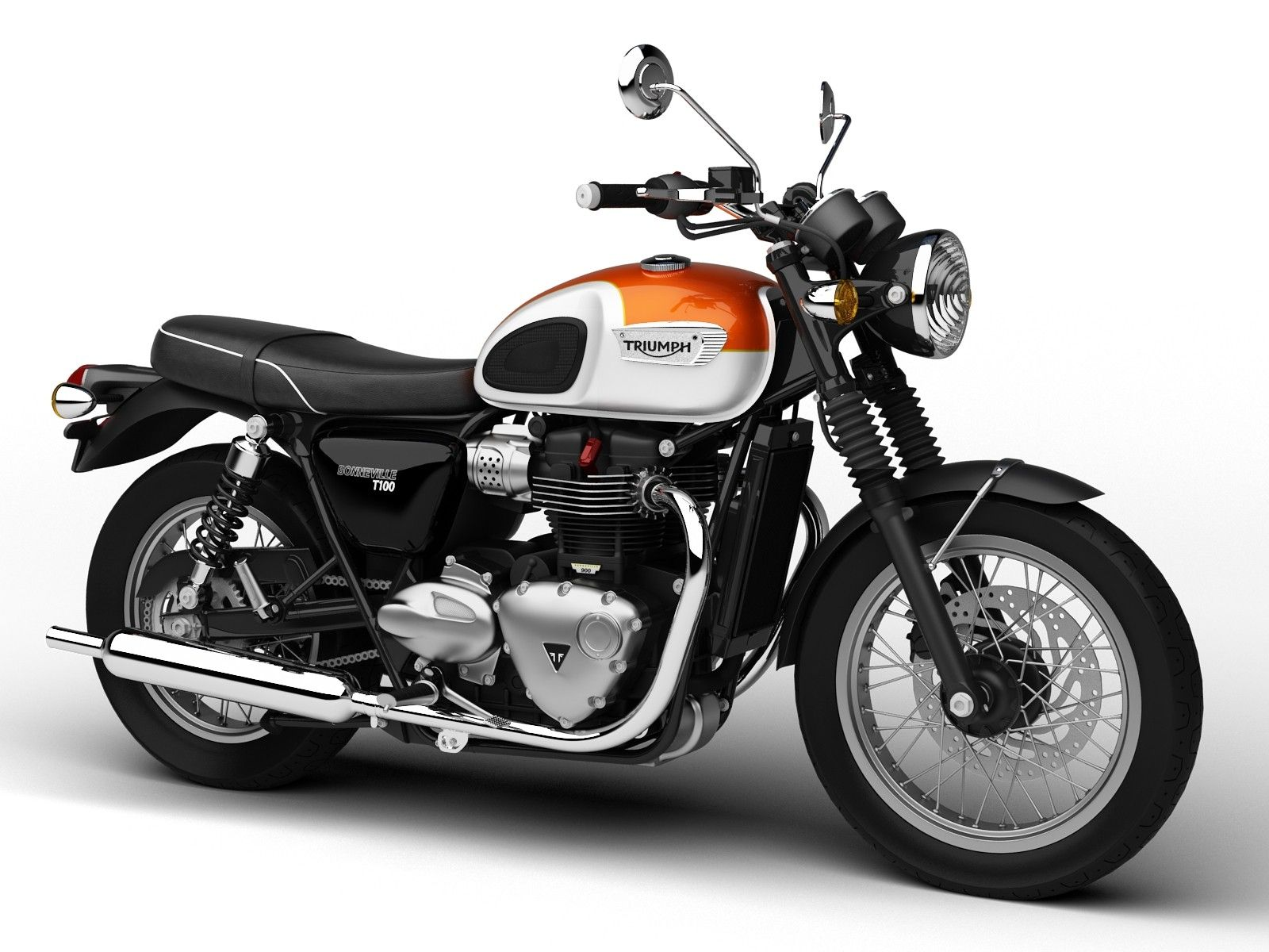 3d triumph bonneville t100 2017 model pinterest triumph bonneville t100. Black Bedroom Furniture Sets. Home Design Ideas