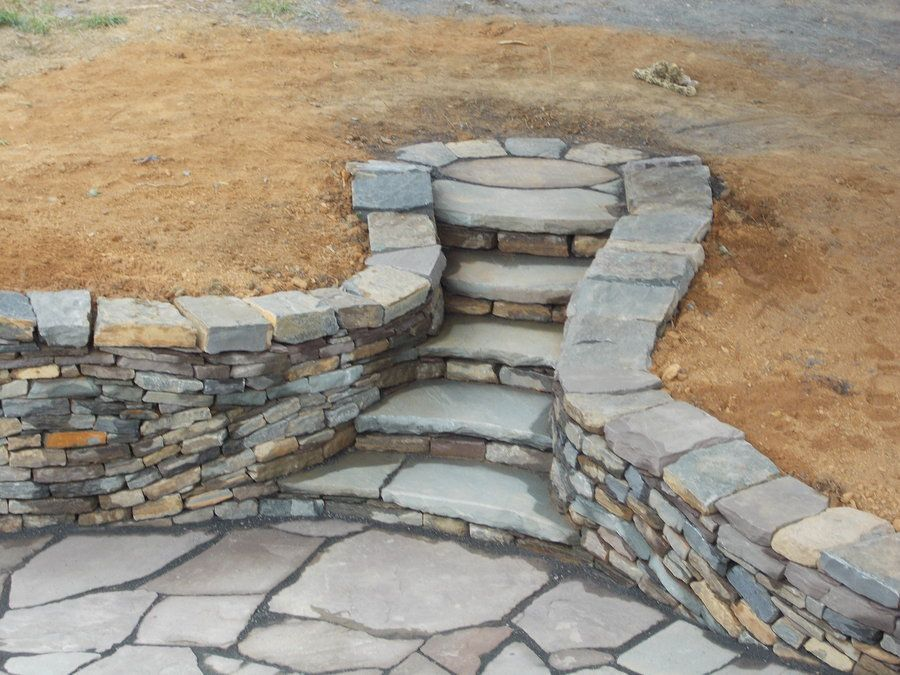 Dry Stone Wall, Steps And Patio I By Devine Escapes.deviantart.com Great Pictures