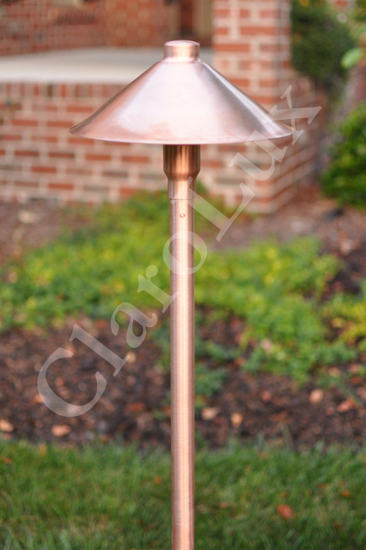 Clarolux Cl Al7 I Copper Led Path Light Outdoor Light Fixtures