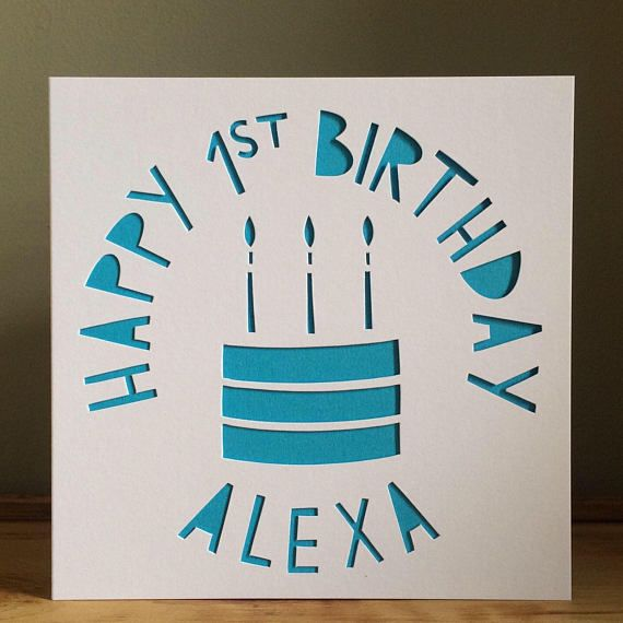 Cake card personalised card birthday card card 1st birthday cake card personalised card birthday card card 1st birthday card personalised birthday card hand cut card greeting card m4hsunfo