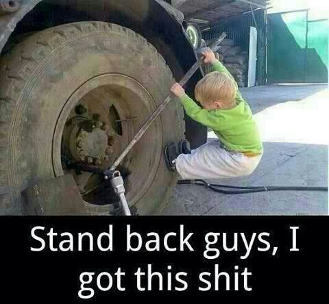 Image result for changing a tire funny