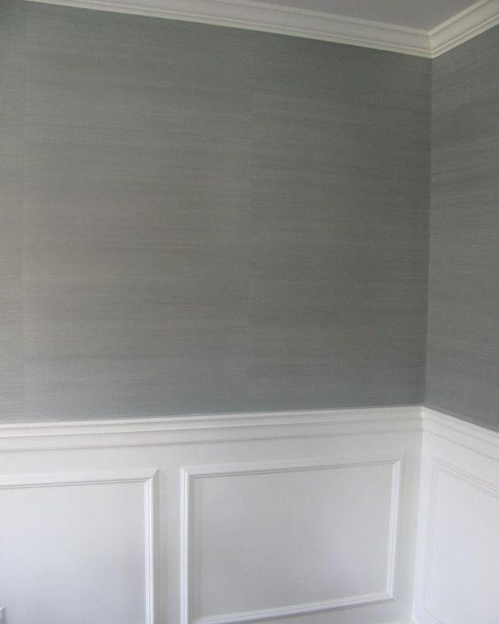 Grasscloth Dining Room: €�Dinning Room Grasscloth Wallpaper @thibaut_1886 Shang