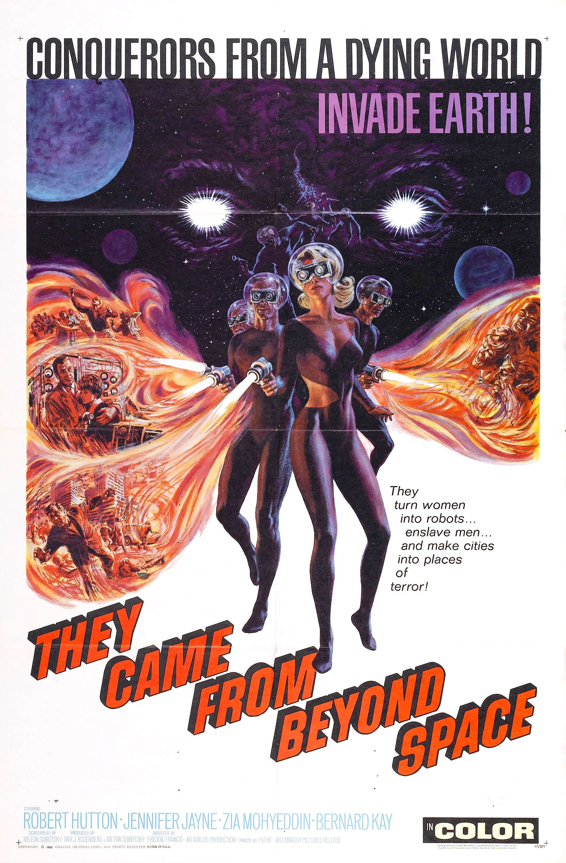 Science Fiction 1960 1969 100 Years Of Movie Posters 39 Movie Posters Space Movie Posters Movie Posters Vintage
