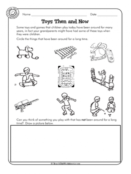Toys Then And Now Toys Topic 1st Grade Activities Homeschool Social Studies