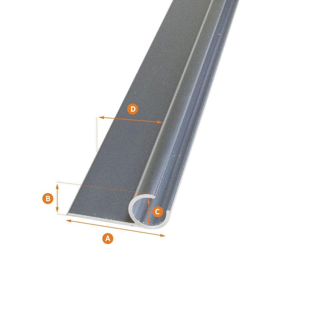 Awning Track Aluminum 48