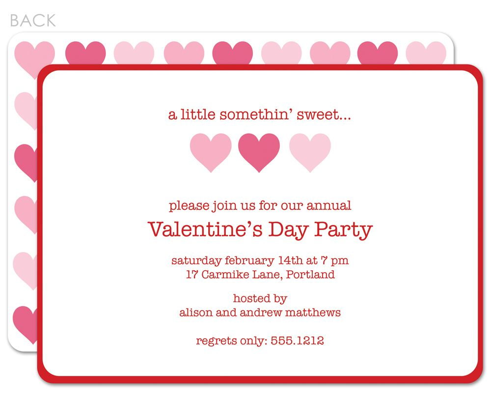 Pin By Anggunstore On Invitstiond By Own Valentines Day