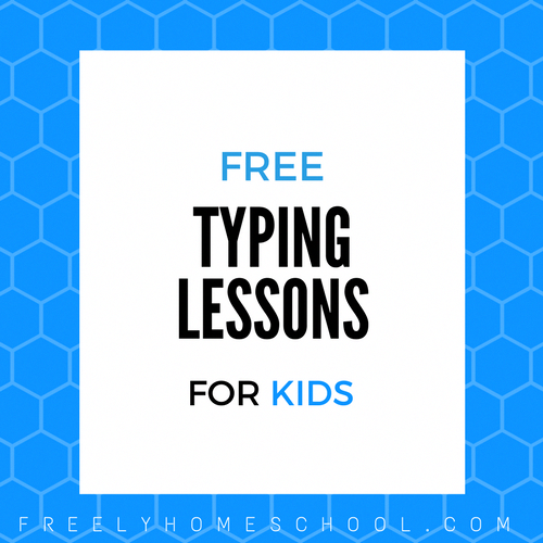 Our 8yo Asked Me If I Could Teach Her To Type Fast I Know A Great Freebie For That Our Older Kids Typing Lessons Typing Practice For Kids Lessons For Kids