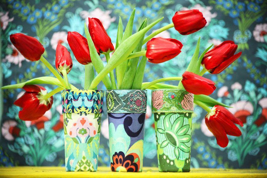Faça você mesmo: crie vasos charmosos com copos - Casa