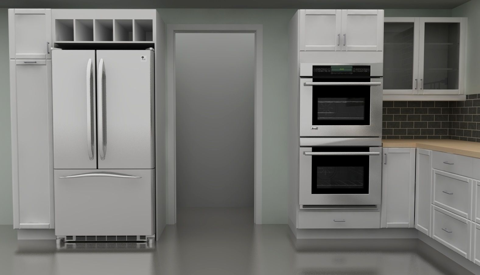 Wall Cabinets With Double Oven Ikea Kitchen Design Ikea Kitchen Kitchen Redesign