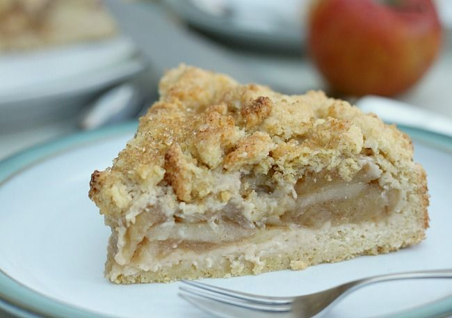 German Krummeltorte Easy Apple Crumble Cake Desserts Pinterest