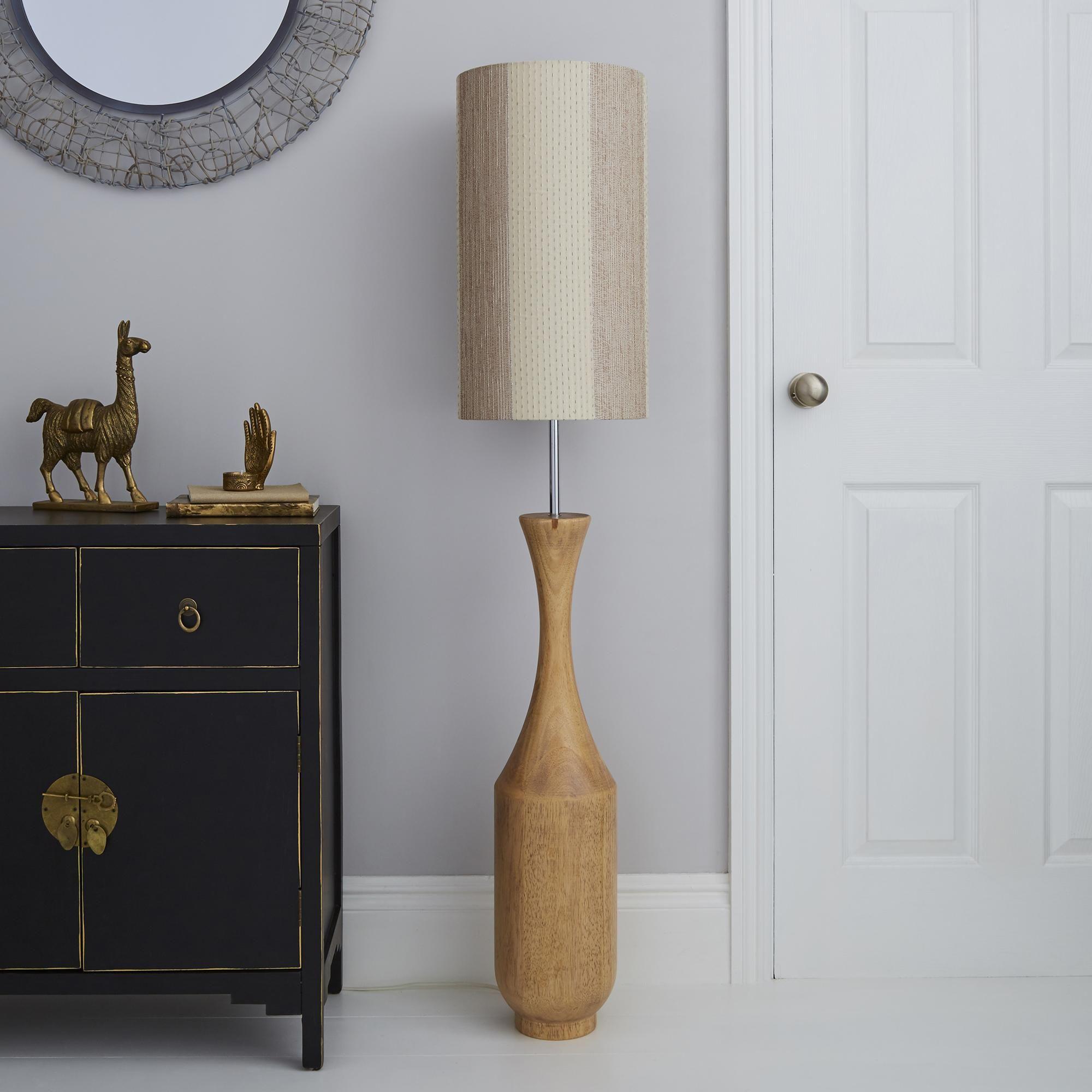 Sala Mango Wood Floor Lamp In 2020 Floor Lamp Wood Floor Lamp