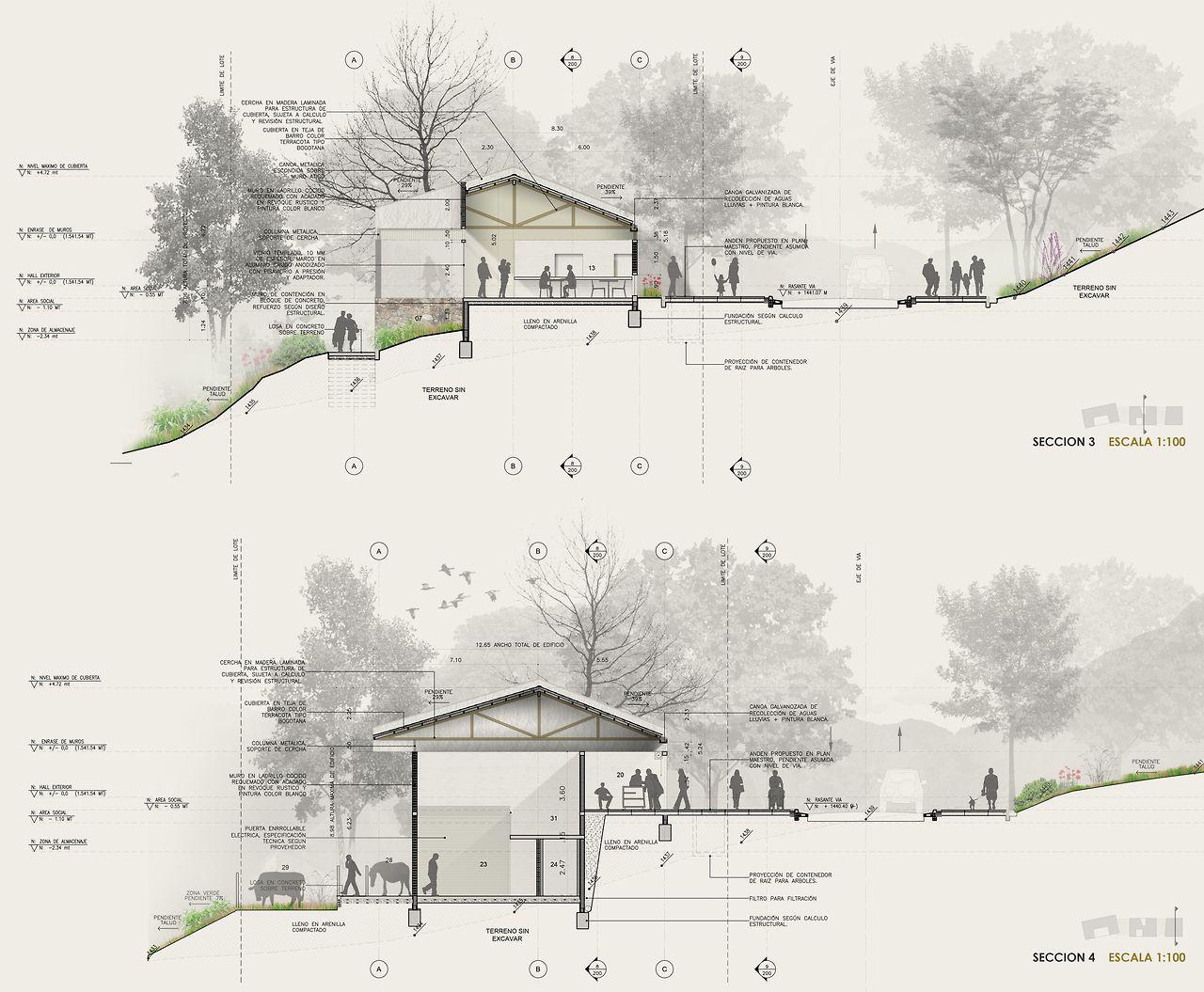 tumblr architecture visualization presentation pinterest architektur. Black Bedroom Furniture Sets. Home Design Ideas