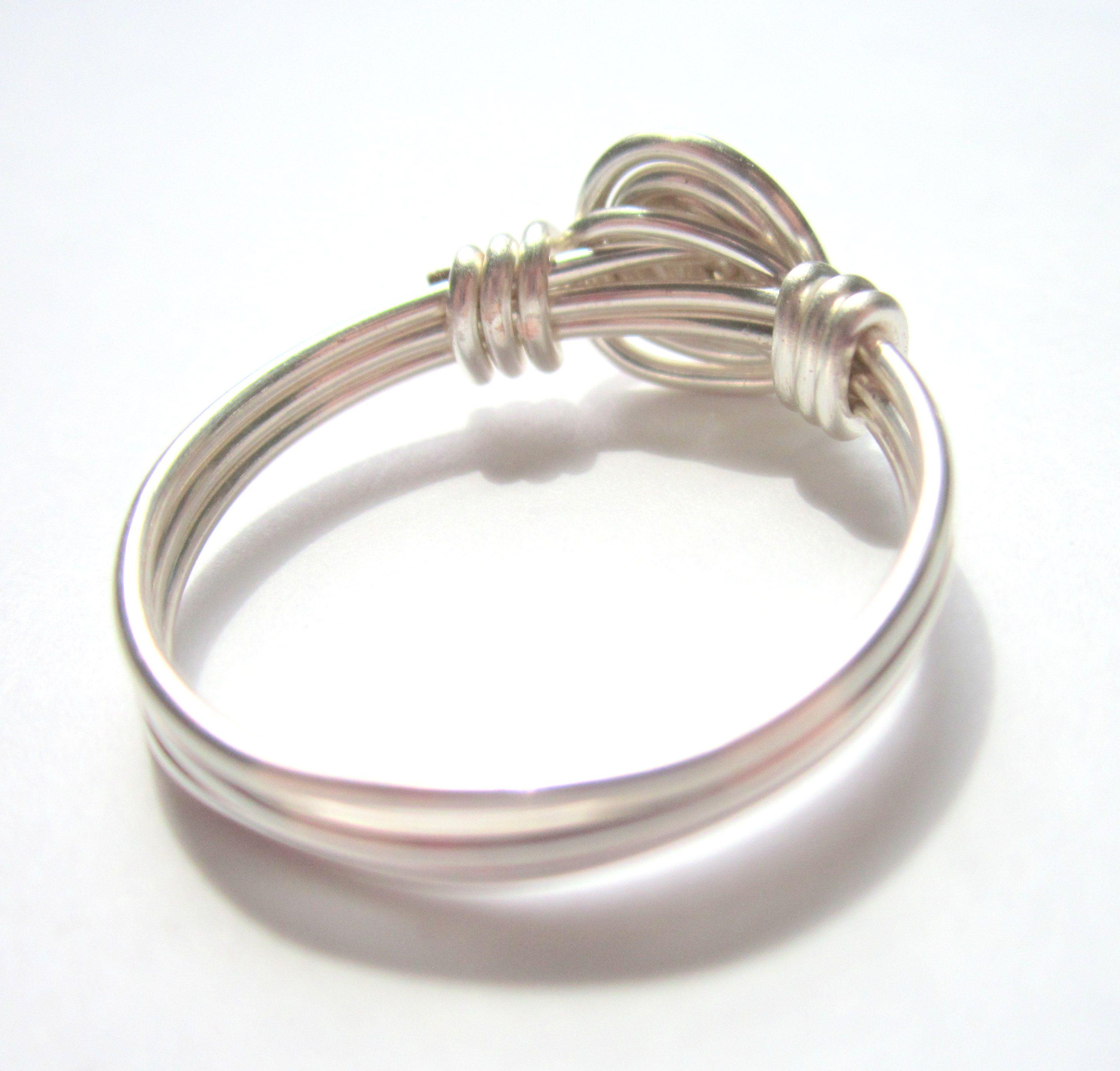 Wire Wrapped Rose Ring Tutorial | alambre y otros metales ...