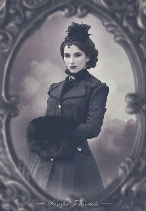 Gothic vintage style #victorian