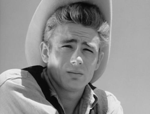 James Dean in Giant (George Stevens, 1956)