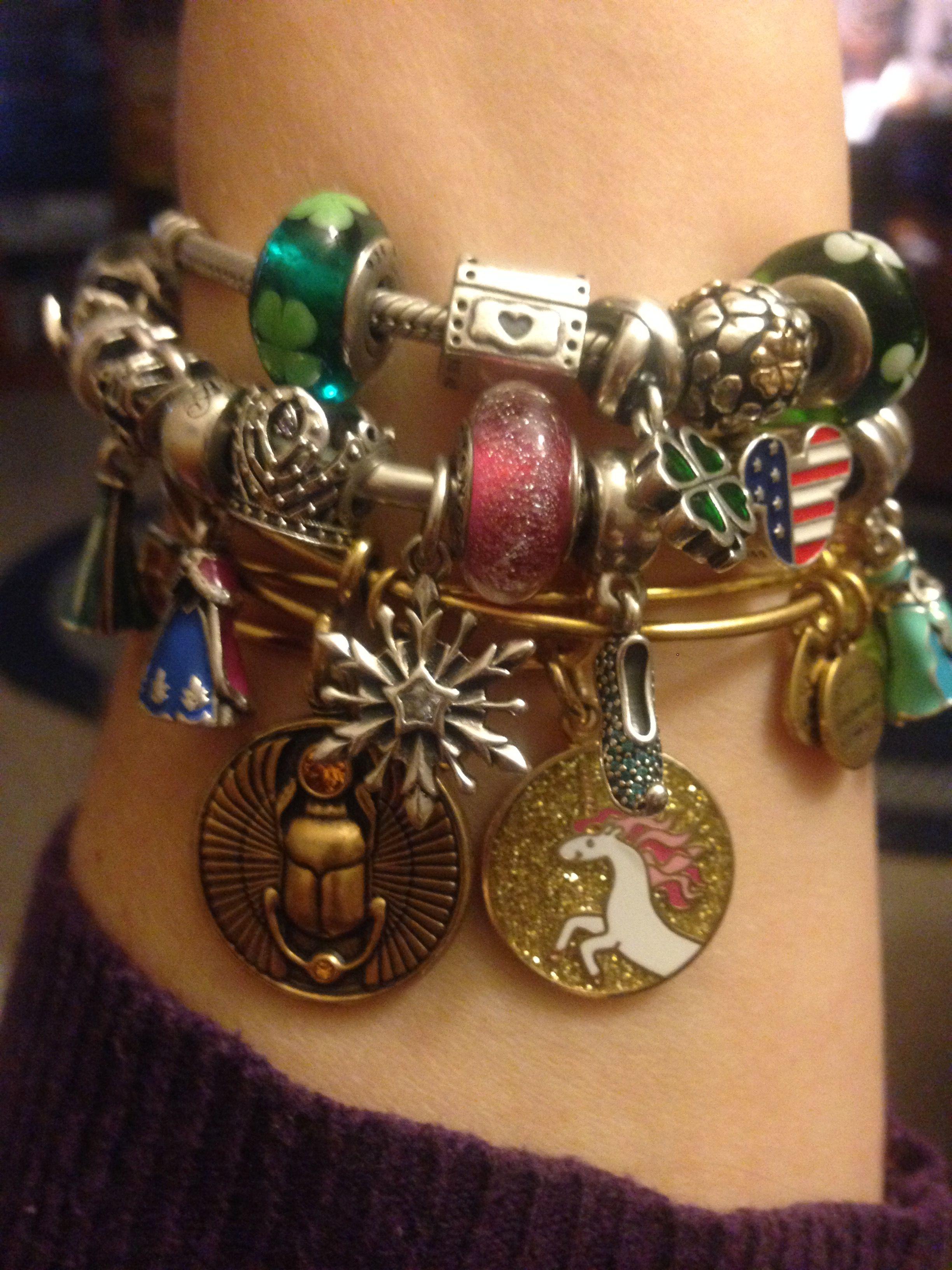 Pandora with Alex and Ani   Pandora charms, Pandora, Jewelry