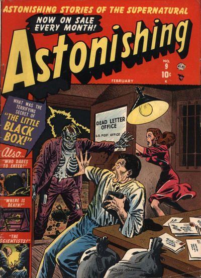 Cover for Astonishing (Marvel, 1951 series) #9